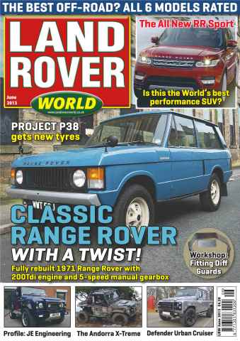 Landrover World issue Off-road performers