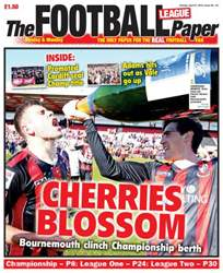 The Football League Paper issue Sunday 21st April 2013