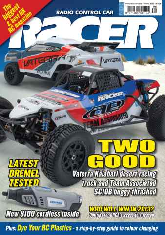 Radio Control Car Racer issue june 2013
