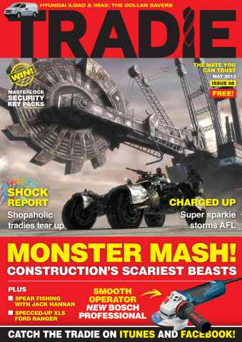 Tradie issue Tradie May 2013