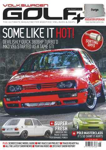 Volkswagen Golf + issue Volkswagen Golf+ June 2013