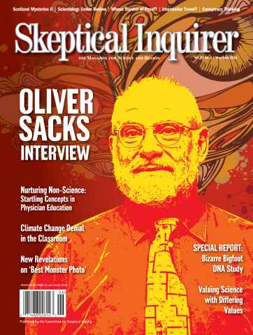 Skeptical Inquirer issue May June 2013