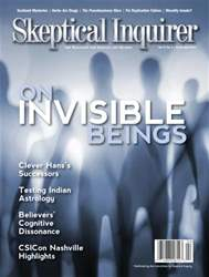Skeptical Inquirer issue March April 2013