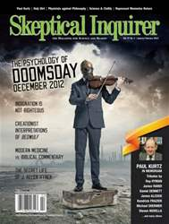Skeptical Inquirer issue Jauary February 2013