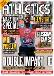 Athletics Weekly issue AW April 25 2013