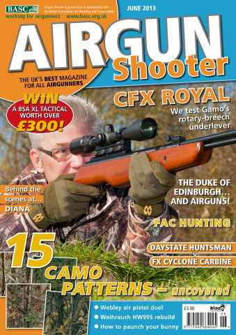 Airgun Shooter issue June 2013