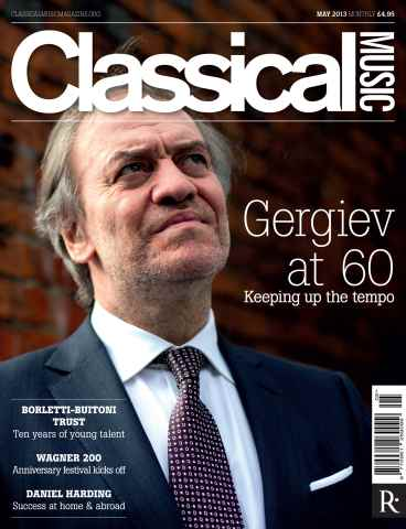 Classical Music issue May 2013