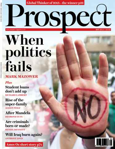 Prospect Magazine issue 206 - May 2013