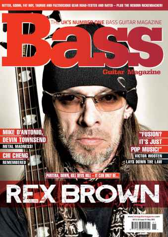 Bass Guitar issue 91 May 2013