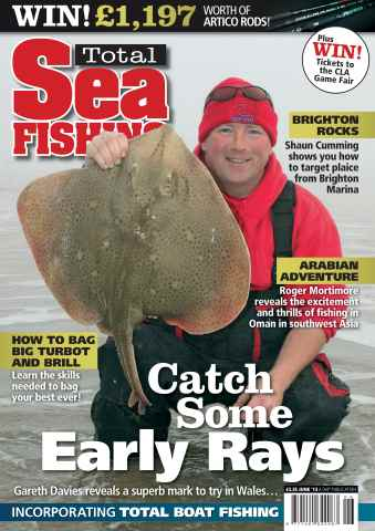 Total Sea Fishing issue June 2013