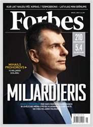 Forbes maijs '13 issue Forbes maijs '13