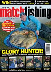 Match Fishing issue May - 2013