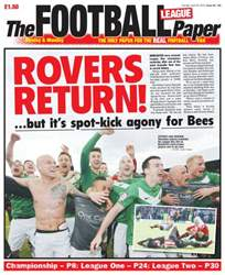 The Football League Paper issue Sunday 28th April 2013