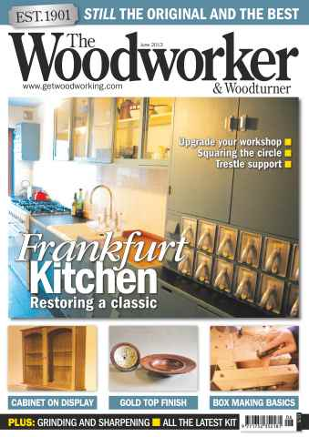The Woodworker Magazine issue June 2013