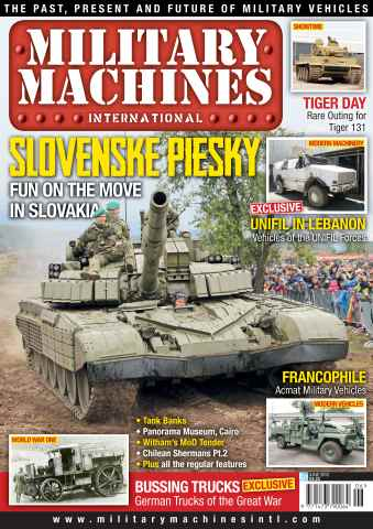 Military Machines International issue June 2013