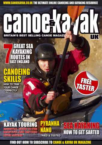 Canoe & Kayak UK issue Free sample issue