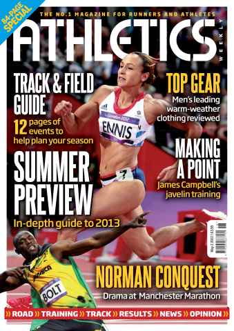 Athletics Weekly issue AW May 2 2013