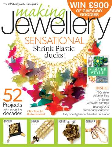Making Jewellery issue June 2013