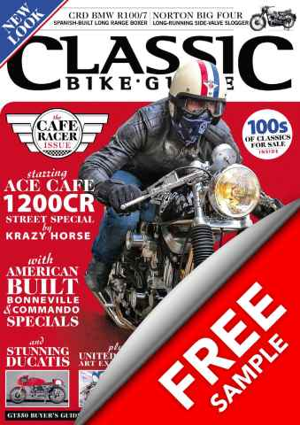 Classic Bike Guide issue MAY 2013 - free sample