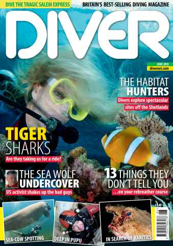DIVER issue JUNE 2013