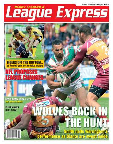 League Express issue 2861