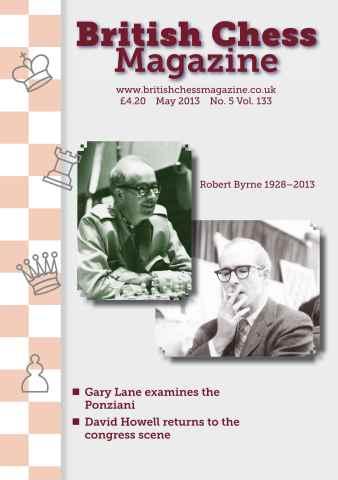 British Chess Magazine issue May 2013