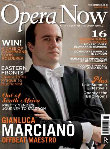 Opera Now issue June 2013