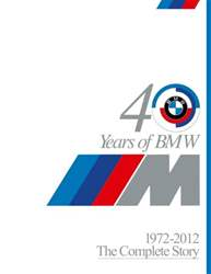 BMW Car issue 40 Years of M The Complete Story
