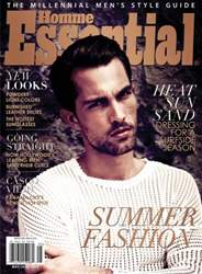 Essential Homme issue May-June 2013