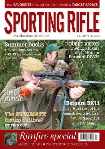 Sporting Rifle issue 91