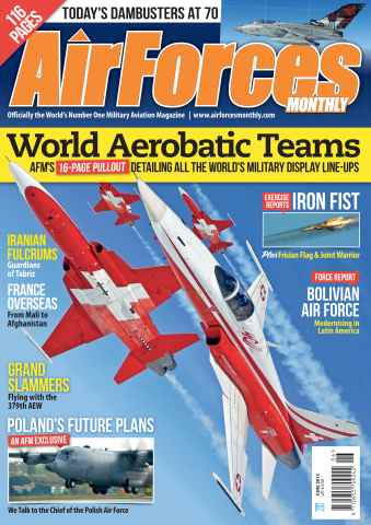 AirForces Monthly issue June 2013