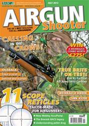 Airgun Shooter issue July 2013
