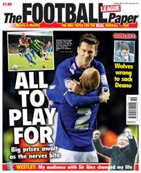 The Football League Paper issue Sunday 12th May 2013