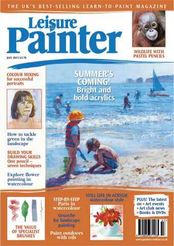Leisure Painter issue July 2013