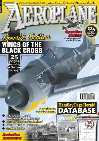 Aeroplane issue No.483 Luftwaffe special