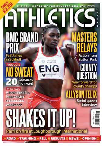 Athletics Weekly issue AW May 23 2013