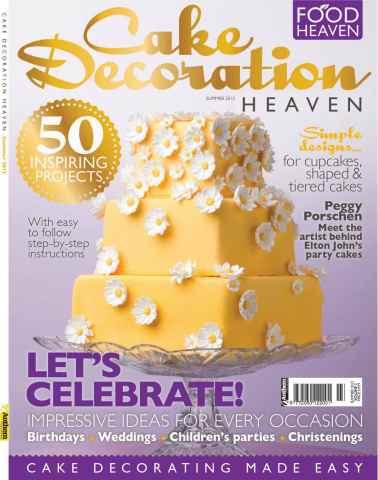 Cake Decoration Heaven issue Cake Decoration Heaven Summer 12