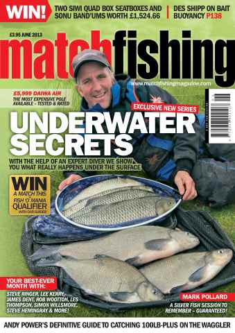Match Fishing issue June - 2013