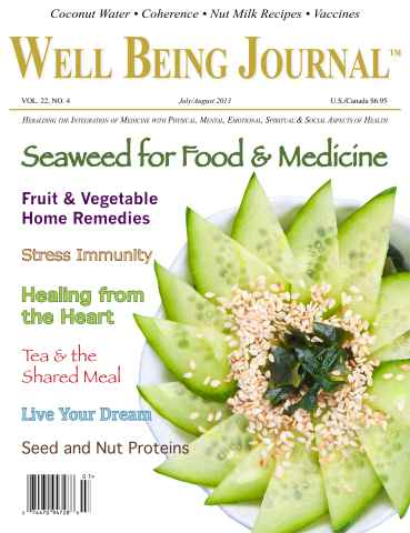 Well Being Journal issue July-August 2013