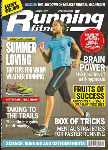 Running Fitness issue Ultimate Off-Road Guide July 13