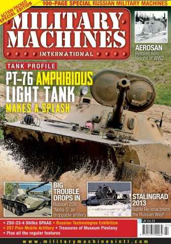 Military Machines International issue July 2013