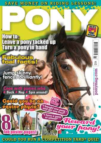 Pony Magazine issue July 2013