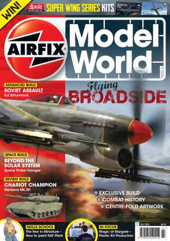 Airfix Model World issue July 2013