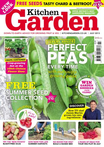 Kitchen Garden Magazine July 2013 Subscriptions Pocketmags