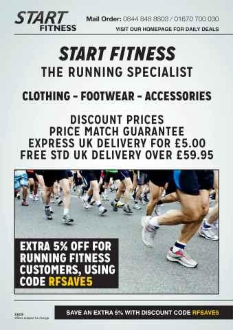 Running Fitness issue Start Fitness Brochure NEW