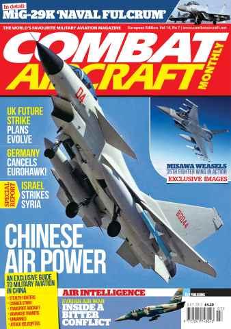 Combat Aircraft issue Vol 14 No 7
