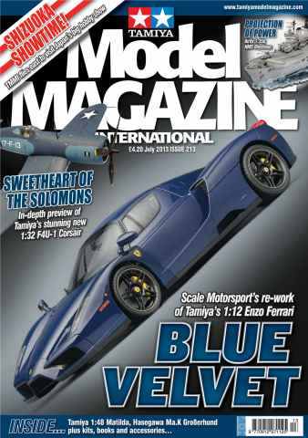 Tamiya Model Magazine issue 213