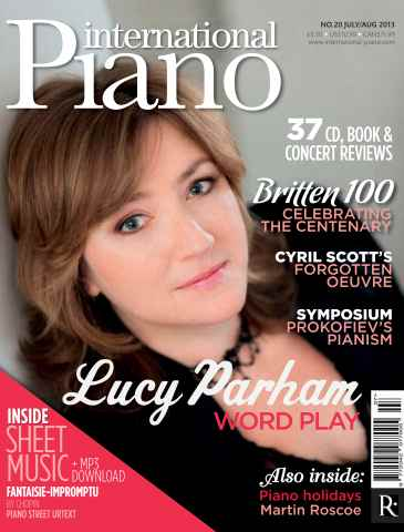 International Piano issue July - August 2013