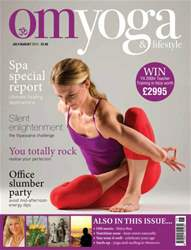 OM Yoga UK Magazine issue July-August 2013 - Issue 33