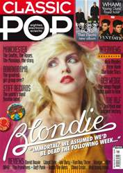 Classic Pop issue Classic Pop Blondie